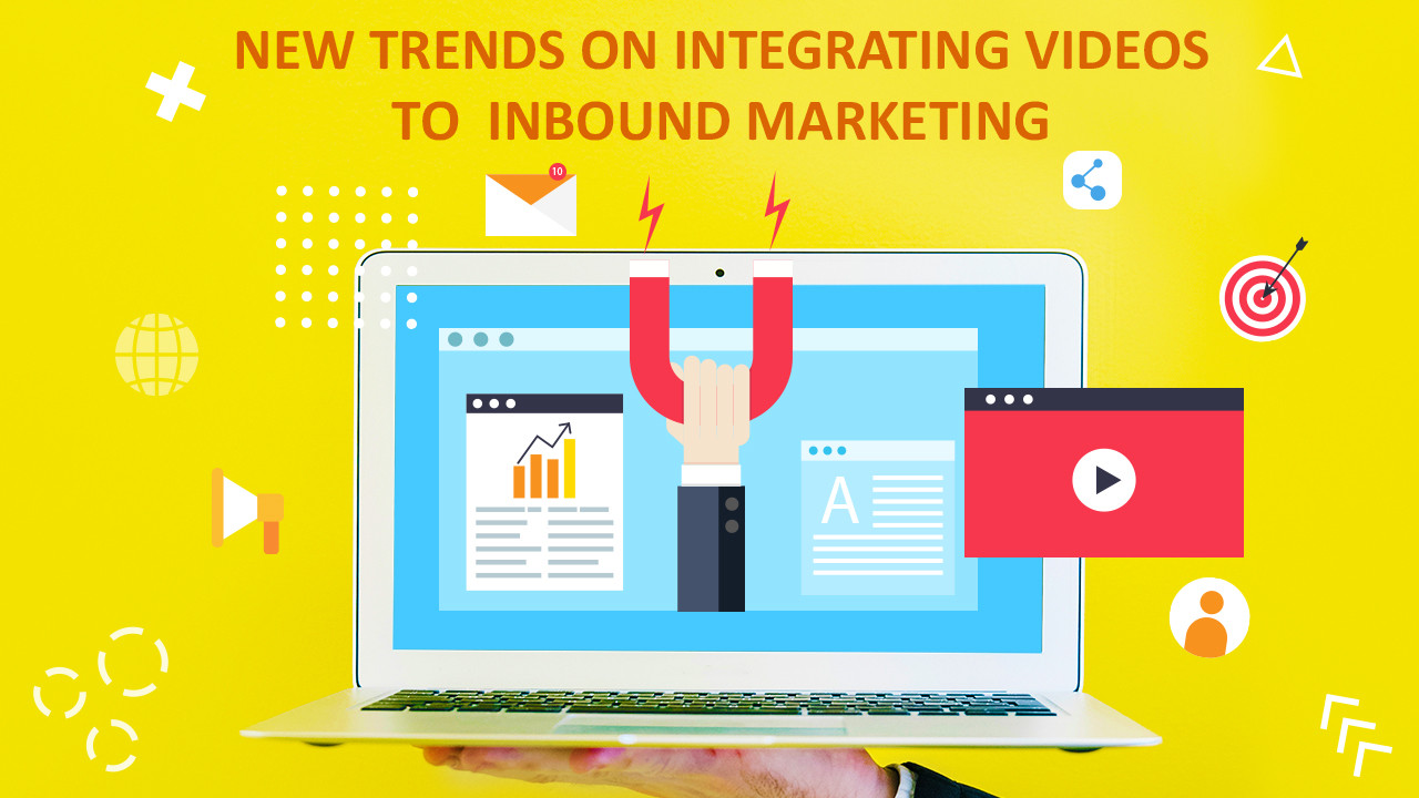 Diverse approaches on integrating videos to inbound marketing