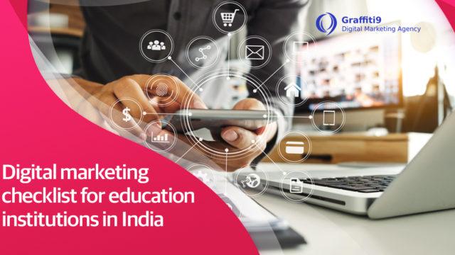 Digital Marketing Checklist For Educational Institute
