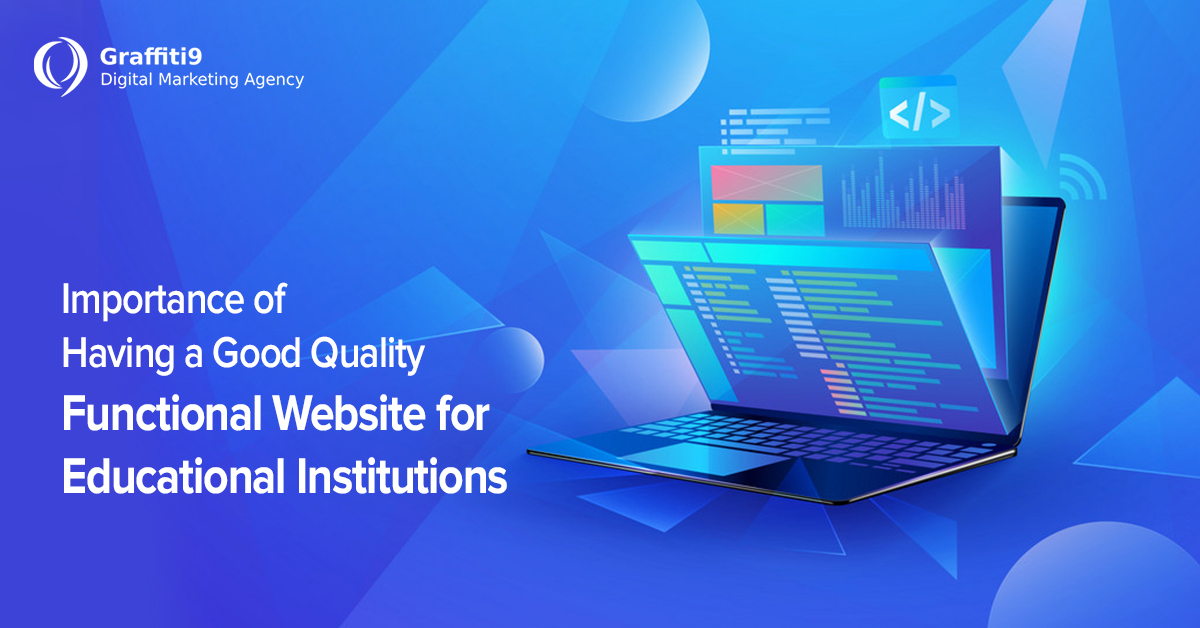 Importance of website for schools/colleges